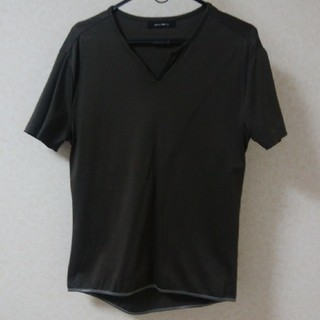 コムサイズム(COMME CA ISM)のplatinum コムサ 半袖カットソー メンズ Lサイズ(Tシャツ/カットソー(半袖/袖なし))