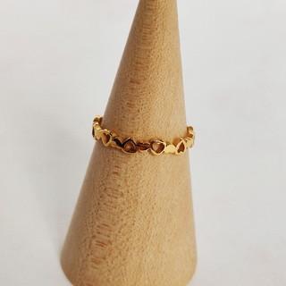 ハートの指輪 ゴールド(リング(指輪))