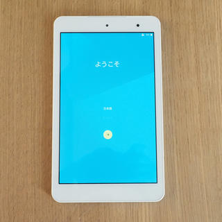 京セラ - Qua tab01 防水タブレット お風呂で動画視聴可能 初期化済み