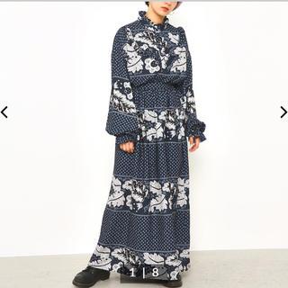 ロデオクラウンズワイドボウル(RODEO CROWNS WIDE BOWL)のRodeoCrowns  新品 ペイズリーパターンマキシスカート(ロングスカート)
