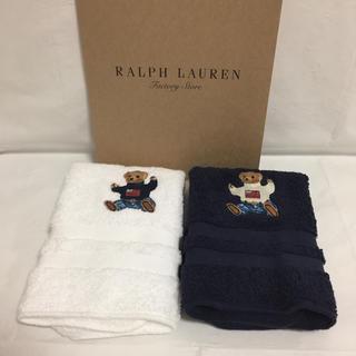 Ralph Lauren - ラルフローレン  ウォッシュタオル  ⭐︎ボロベア