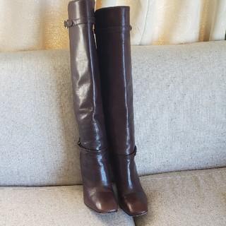 プラダ(PRADA)のPRADA ロングブーツ!38size 24,5センチ(ブーツ)