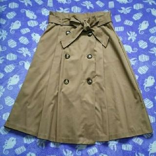 シマムラ(しまむら)のトレンチスカート Lサイズ(ひざ丈スカート)