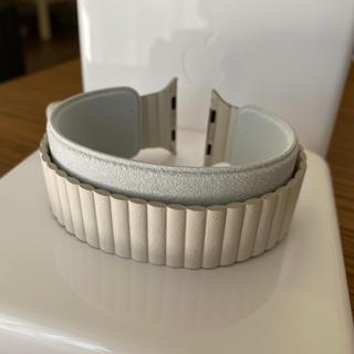 Apple - 【Apple Watch】42mm/44mm用ストーンレザーループ - M