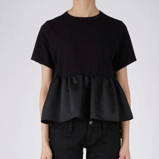 トゥモローランド(TOMORROWLAND)のYOKO CHAN Front Gathered Cut-sew 38(Tシャツ(半袖/袖なし))