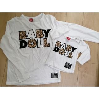 ベビードール(BABYDOLL)のBABY DOLL 子供服 親子おそろいコーデ(Tシャツ)