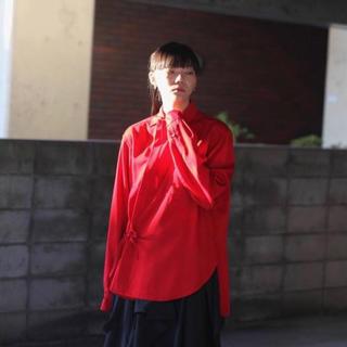 ジョンローレンスサリバン(JOHN LAWRENCE SULLIVAN)のsoshiotsuki 19aw 着物シャツ(シャツ)