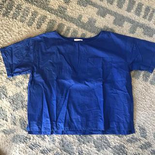 スタディオクリップ(STUDIO CLIP)の青色 半袖トップス(カットソー(半袖/袖なし))
