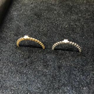 ドゥーズィエムクラス(DEUXIEME CLASSE)のダイヤモンド ピンキーリング(4号)×2点(リング(指輪))