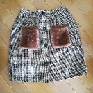 シマムラ(しまむら)のもこもこ スカート(ミニスカート)