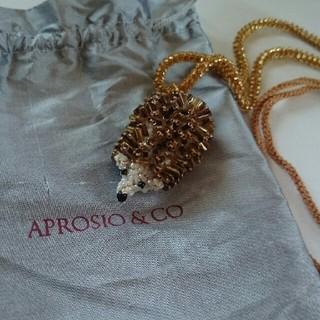 H.P.FRANCE - APROSIO &CO ハリネズミ ネックレス