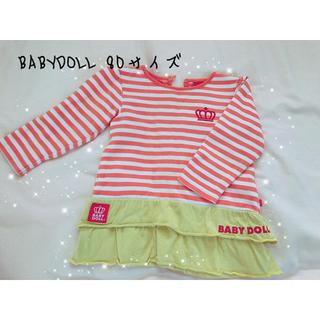 ベビードール(BABYDOLL)のベビードール トップス80サイズ(Tシャツ)