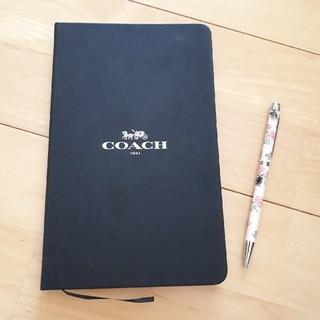 コーチ(COACH)のCOACH コーチ ノート ボールペン(ノート/メモ帳/ふせん)