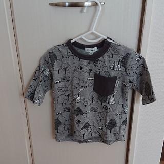 サンカンシオン(3can4on)の【3can4on】80cm 七分丈 Tシャツ(Tシャツ)
