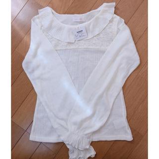 リズリサ(LIZ LISA)のリズリサ 襟付き トップス2点セット(カットソー(長袖/七分))