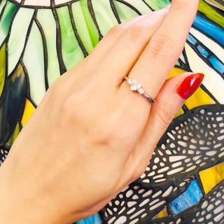 天然ダイヤモンド ハートシェイプ指輪 0.316ctダイヤ(リング(指輪))