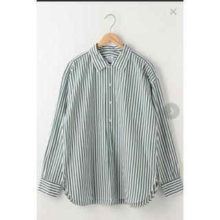 coen - coen ストライプシャツ