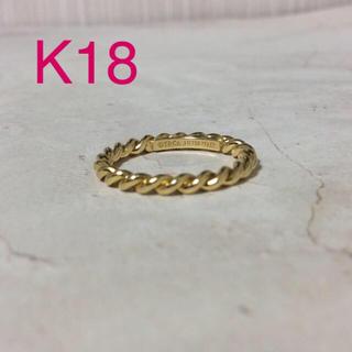 ティファニー(Tiffany & Co.)のティファニー K18 ツイストリング(リング(指輪))