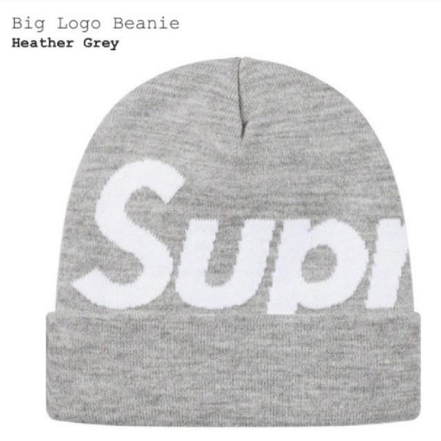 Supreme(シュプリーム)のSupreme Big Logo Beanie Heather Grey メンズの帽子(ニット帽/ビーニー)の商品写真