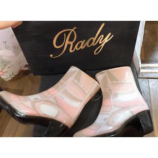 Rady 今販売されてない入手困難 レア 台風の備えに(レインブーツ/長靴)
