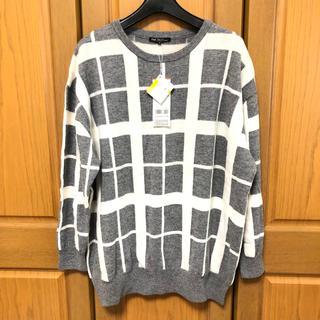 ニジュウサンク(23区)の23区L(大きいサイズ)46☆ニットセーター☆未使用(ニット/セーター)