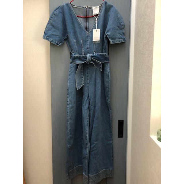 EDIT.FOR LULU(エディットフォールル)のC/MEO COLLECTIVE / デニムジャンプスーツ  レディースのパンツ(オールインワン)の商品写真