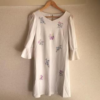 ウィルセレクション(WILLSELECTION)のウィルセレクション♡刺繍ワンピース(ひざ丈ワンピース)
