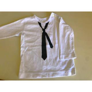 アニエスベー(agnes b.)のアニエス ベー ネクタイ ロングTシャツ カットソー  90 2an(Tシャツ/カットソー)