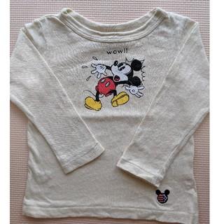 エフオーキッズ(F.O.KIDS)のエフオーキッズ ミッキー ロンT 80(Tシャツ)