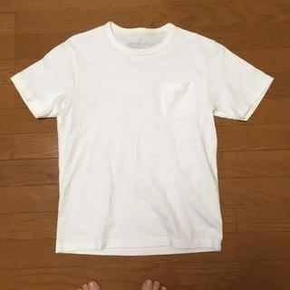 ムジルシリョウヒン(MUJI (無印良品))の無印良品 白Tシャツ M size(Tシャツ/カットソー(半袖/袖なし))
