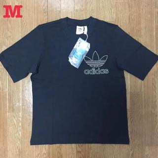 adidas - アディダス オリジナルス アウトライン 半袖 Tシャツ 黒 M 新品未使用