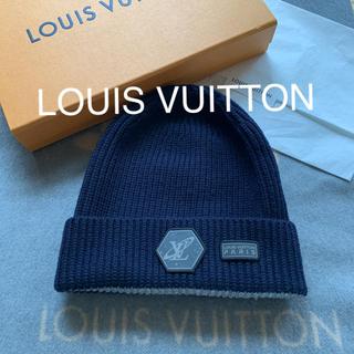 ルイヴィトン(LOUIS VUITTON)の極美品☆ルイヴィトン☆ニット帽(ニット帽/ビーニー)