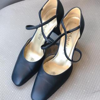 サンローラン(Saint Laurent)のYSL イヴ・サンローラン パンプス 黒 レディース 女性用 靴 ヒール(ハイヒール/パンプス)