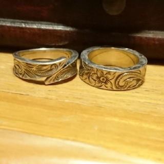 ハワイアンジュエリー リング 指輪 2本セット(リング(指輪))