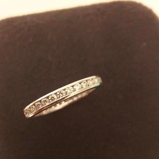 ティファニー(Tiffany & Co.)のティファニー フルサークル チャネルセッティング リング   フルエタニティ(リング(指輪))