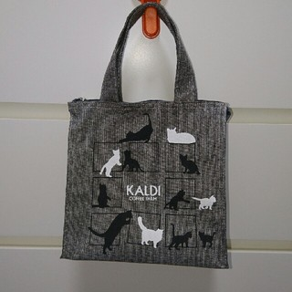 カルディ(KALDI)の【新品】カルディ❤ネコトートバッグ(トートバッグ)