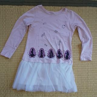 UNIQLO - プリンセスワンピース☆チュニック☆ユニクロ140
