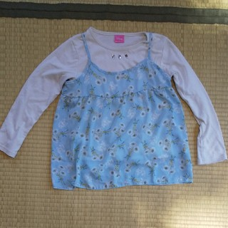 しまむら - ミニー☆キャミ・Tシャツ二点セット☆140