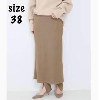 DEUXIEME CLASSE - AMERICANA THERMAL スカート ベージュ 38 未開封新品タグ付き