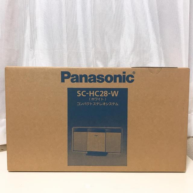 Panasonic(パナソニック)の【美品】Panasonic コンパクトステレオシステム スマホ/家電/カメラのオーディオ機器(スピーカー)の商品写真