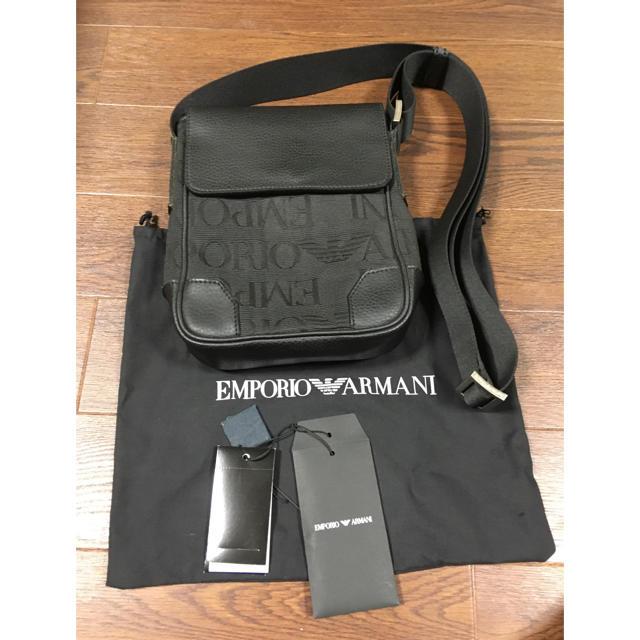 Emporio Armani(エンポリオアルマーニ)のエンポリオアルマーニ ショルダー バッグ バック メンズのバッグ(ショルダーバッグ)の商品写真