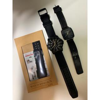 ルミノックス(Luminox)のルミノックス スカーゲン ルミノックスの換えバンド付き(腕時計(アナログ))