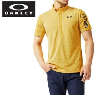 オークリー(Oakley)のM 早い者勝ち‼️新品 人気 オークリー  ポロシャツ ゴルフウェア 半袖(ウエア)