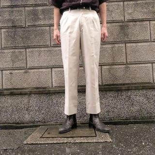 スラックス  ホワイト vintage