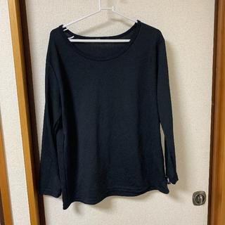 Disney - 黒Tシャツ  4L