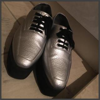 エモダ(EMODA)のEMODA ラバーソール シューズ(ローファー/革靴)