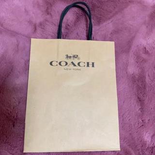 コーチ(COACH)のCOACH コーチショップ袋 紙袋(ショップ袋)