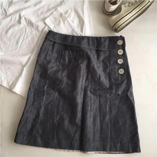 ミナペルホネン(mina perhonen)の美品 サリースコット スカート 11(ひざ丈スカート)