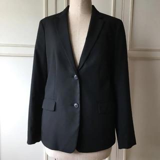 ユニクロ(UNIQLO)のジャケット  ブラック  リクルート  L(スーツ)