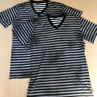 フーガ(FUGA)のFUGA Tシャツ ボーダー 2枚セット(Tシャツ/カットソー(半袖/袖なし))